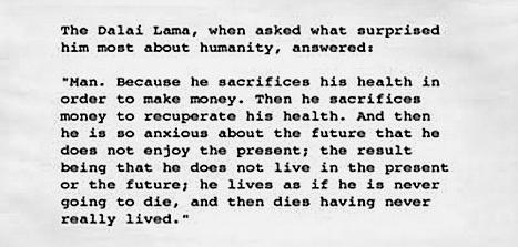 Dalai Lama Humanity Quote