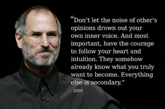 Steve Jobs Opinions of Others Quote