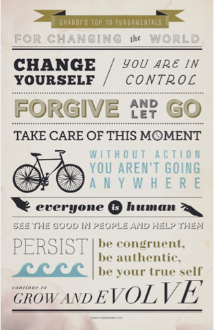 Gandhi Quotes - 10 Fundamentals