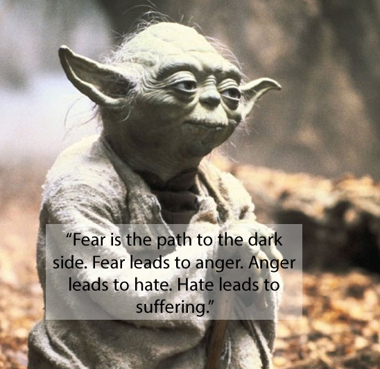 Yoda Fear Quote