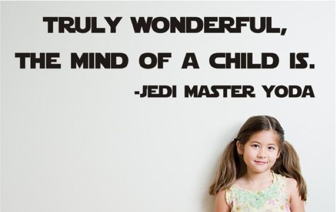 Yoda Child Quote
