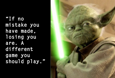 Yoda Mistake Quote