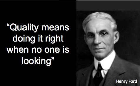 Henry Ford Quote Quality