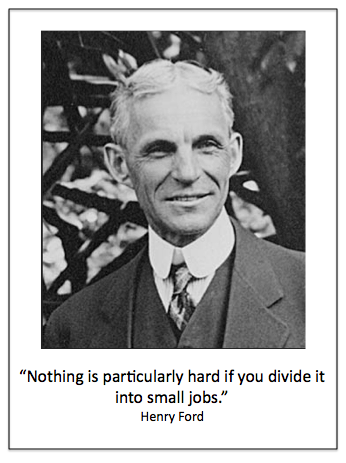 Henry Ford Quote Small Jobs