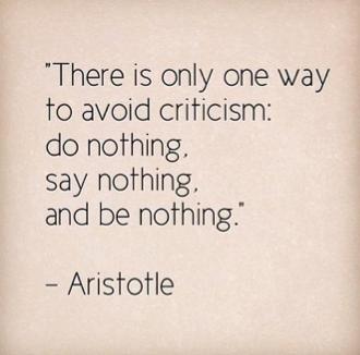 Aristotle-critiscism