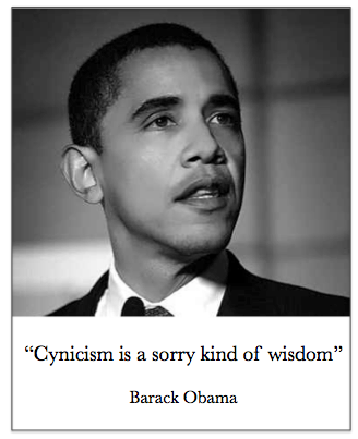 obama cynicism