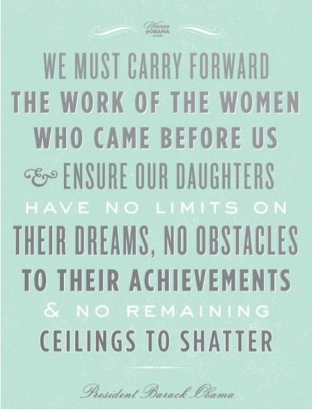 obama women quote