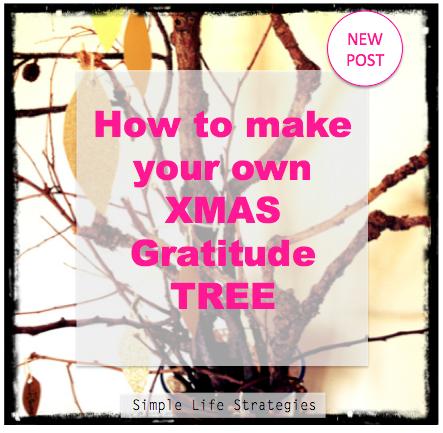 Xmas Gratitude Tree