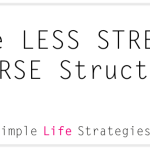 Less-stress-course-structure