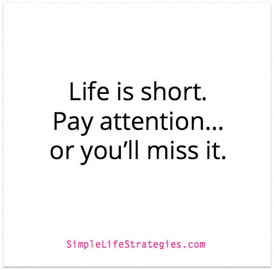 pay attention quote