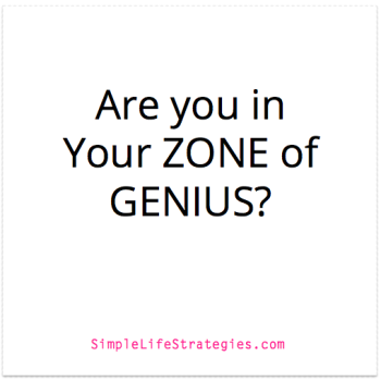 zone of genius