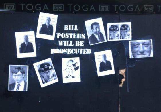 bill posters