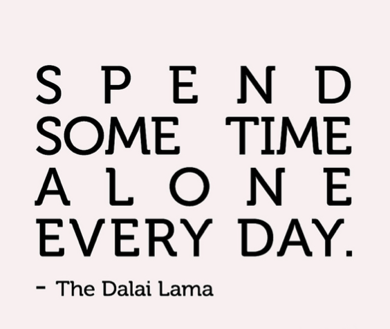 Dalai Lama Alone Quote
