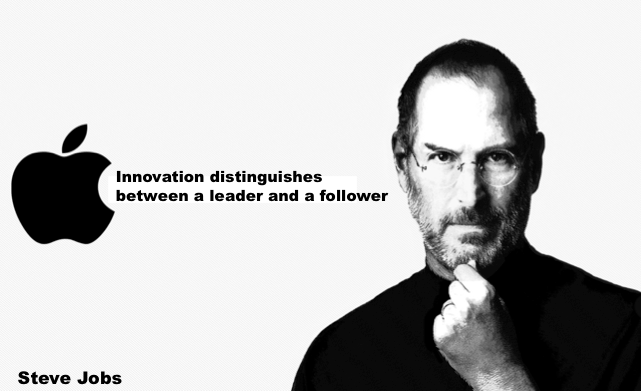 Steve Jobs Innovation Quote