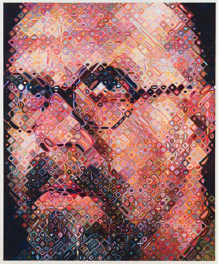 How Chuck Close Turned a Challenge into an Opportunity