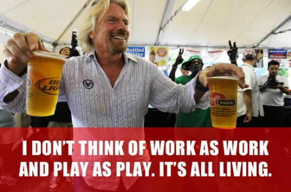 Richard branson Quote Living