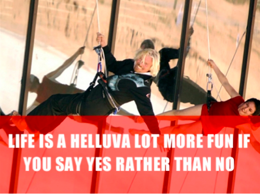 Richard Branson Quote Fun
