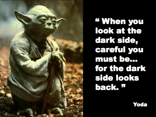 Yoda Dark Side Quote