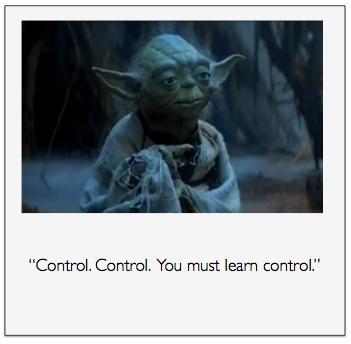 Yoda Control Quote