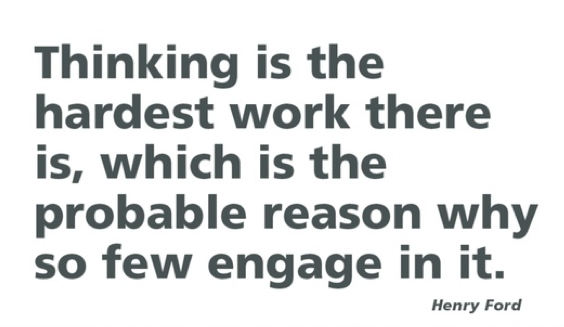 Henry Ford Quote - Thinking