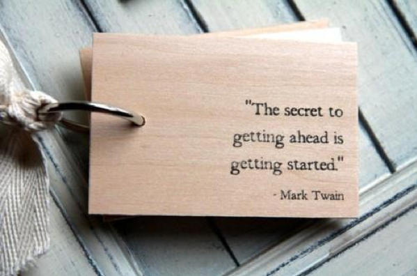Mark Twain Getting Ahead Quote