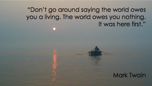 Mark Twain World Quote