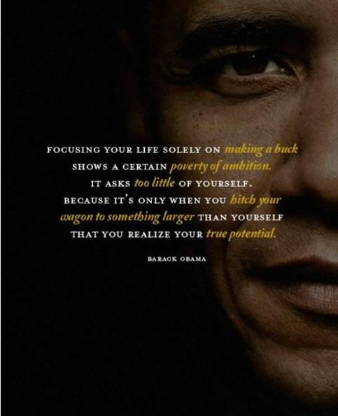 Inspiring obama quote