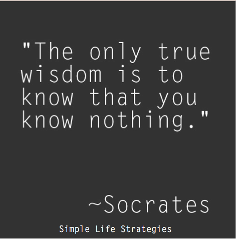 Wisdom From Socrates Inspiring Quotes Simple Life Strategies Stunning Proverb On Philosophy