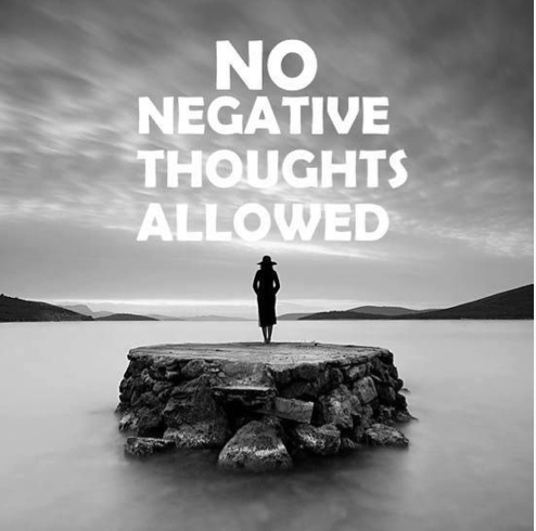 How to Stop Negative Thinking in it's Tracks