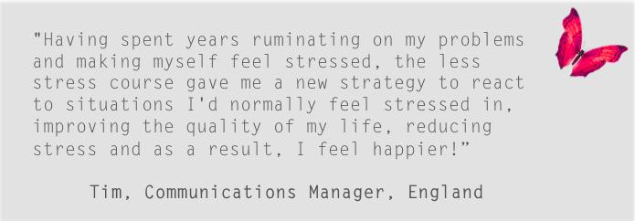 Stress Testimonial C