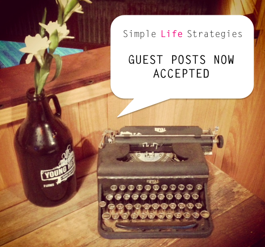 Guest Posts Accepted