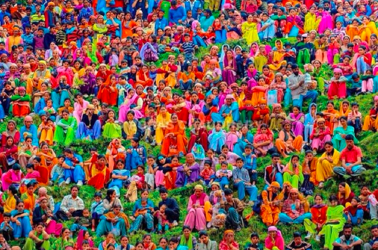 inspiring colourful India