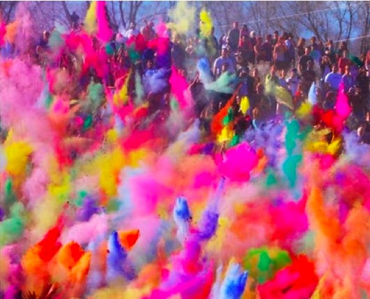 inspiring festival of colours