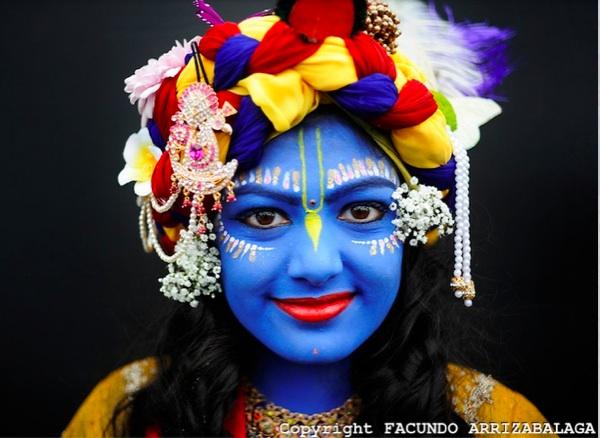 inspiring krishna paint