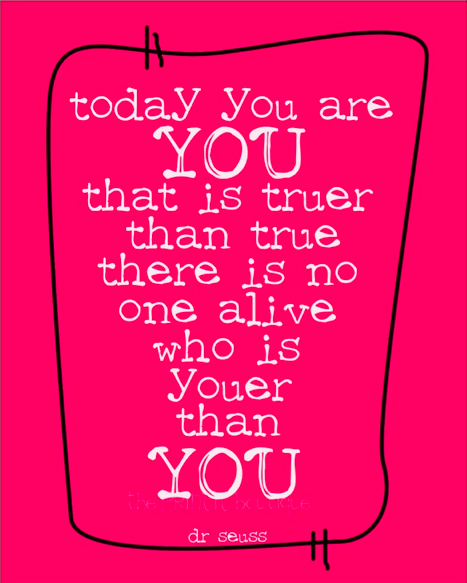 you dr seuss quote