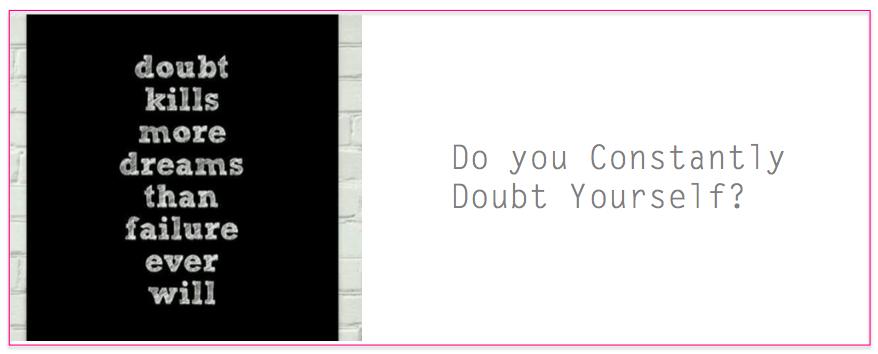 doubt self