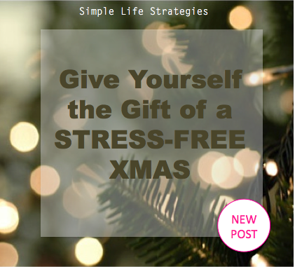 Give Yourself the Gift of a Stress-Free Xmas this Year