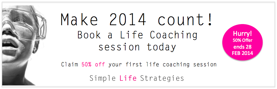 life coaching 2014 offer
