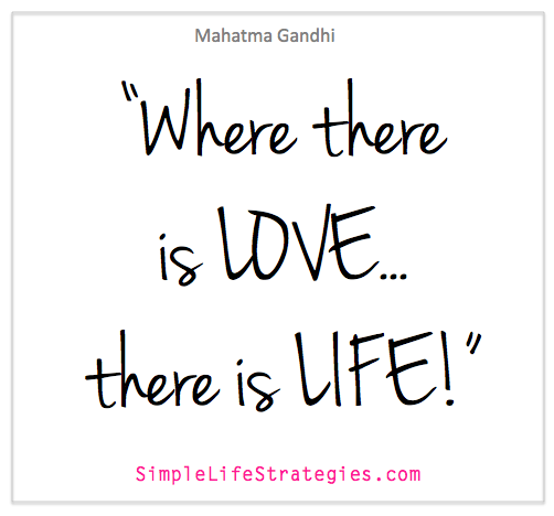 gandhi love quote