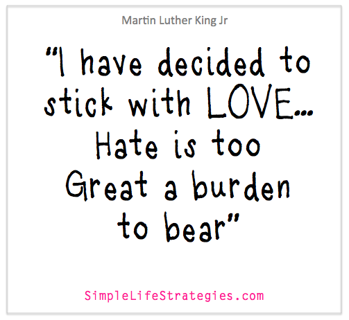 martin luthar king love quote