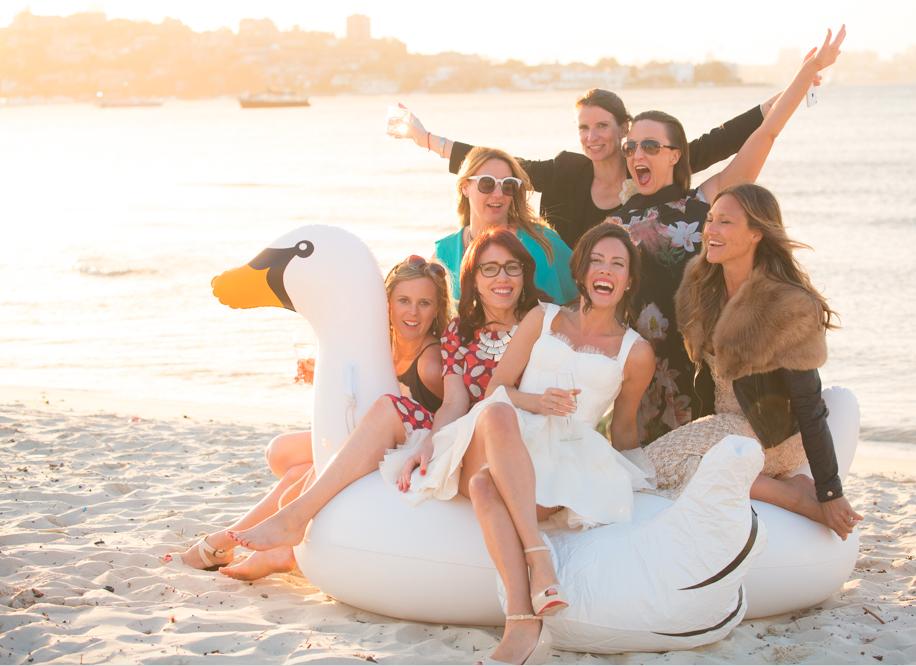 zoe b girls on swan