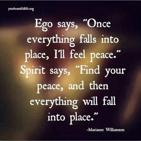 Mariannel Williamson Quote - Ego