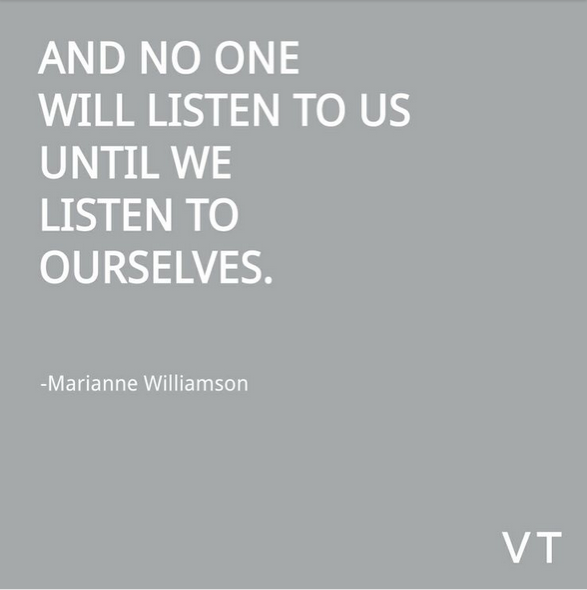 listen to self quote
