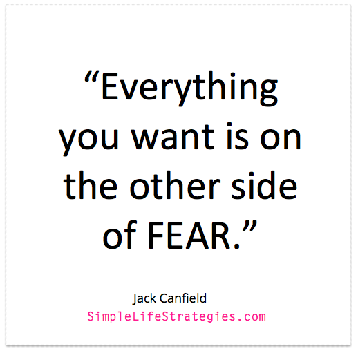 Is Fear Holding You Back Simple Life Strategies