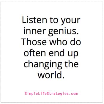 inner genius quote