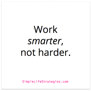 work smarter not harder quote