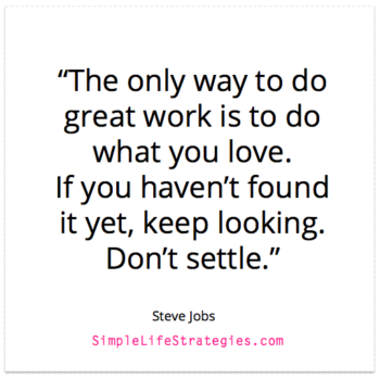 steve jobs career quote