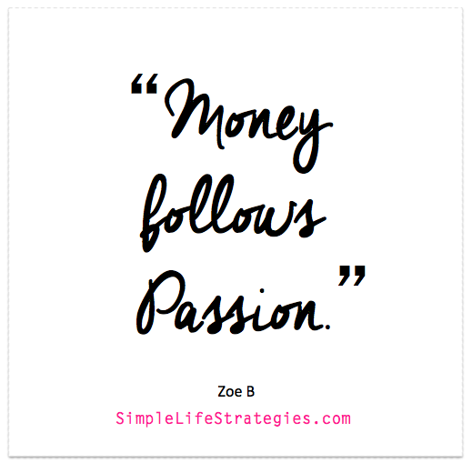 follow your passion quote