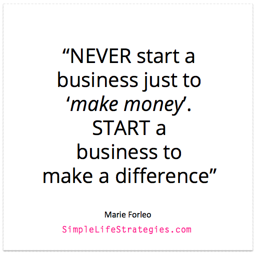 start a business quote