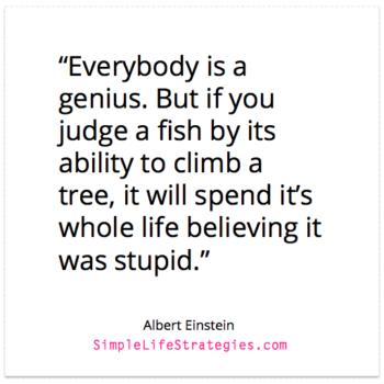 einstein genius quote